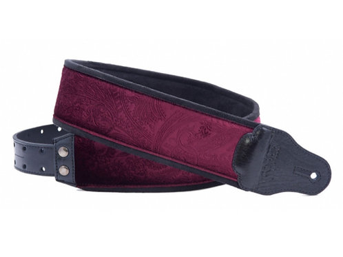 RightOn! Jazz Guitar and Bass Strap Cashmere Red