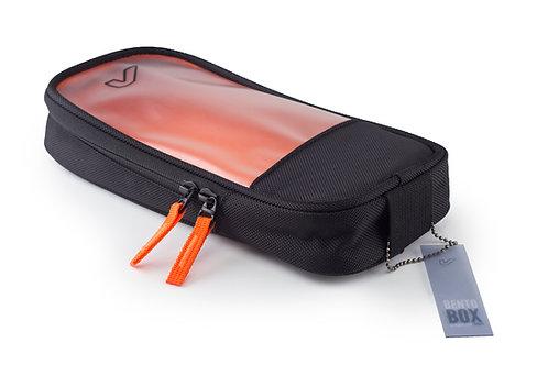 gruv gear black bento bag full length slim small