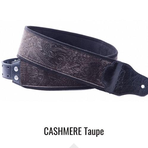 RightOn! Jazz Guitar and Bass Strap Cashmere Taupe