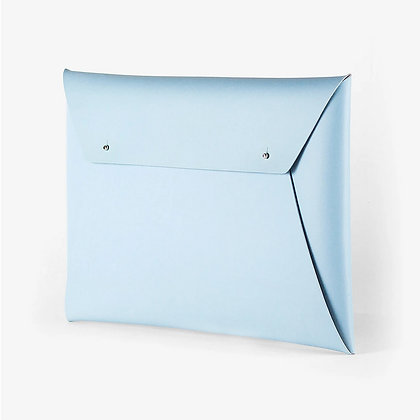 Porte-documents / Pochette Ordinateur Bleu clair