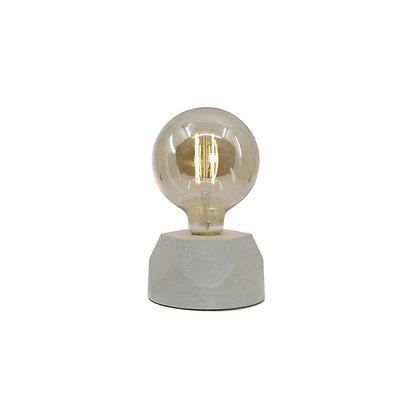 Lampe hexagone beige
