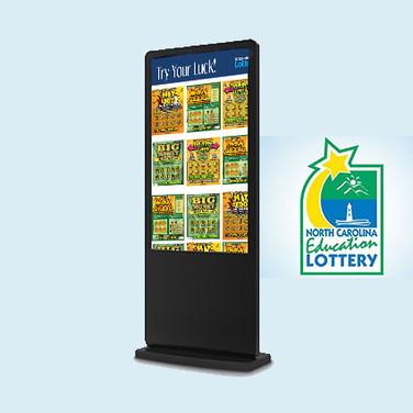North Carolina Lottery Kiosk Redesign