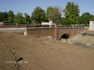 VA Roseburg National Cemetery bridge is completed!