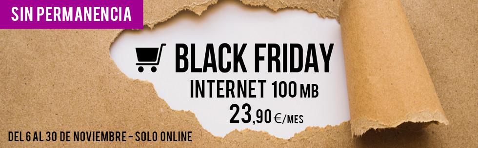 Internet 100 Mb por 23,90 €/mes