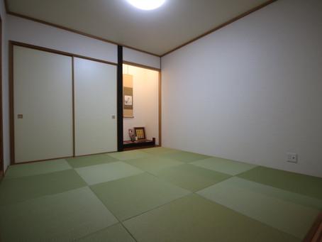 八王子の畳屋 畳施工2020.12.5.