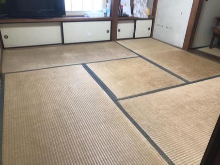 八王子の畳屋 畳施工2020.12.24.
