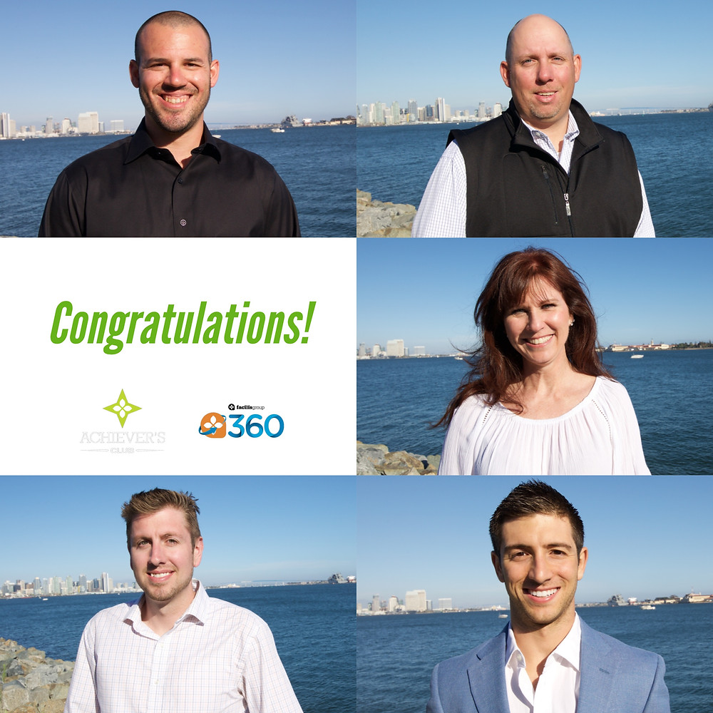 360 Achievers for 2017