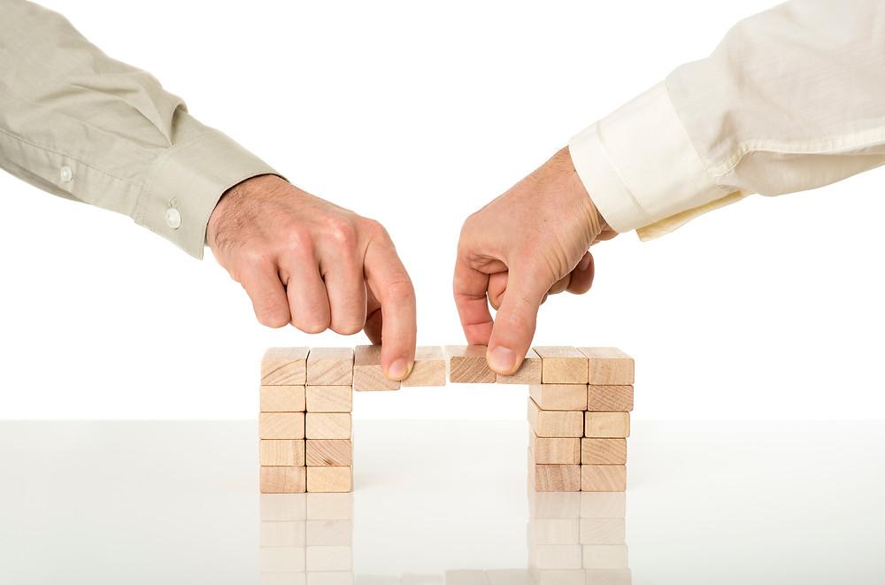 Build a bridge with an accountability buddy