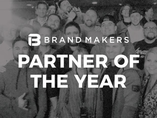 A Recipe for Success -  Brand Makers Partner of the Year
