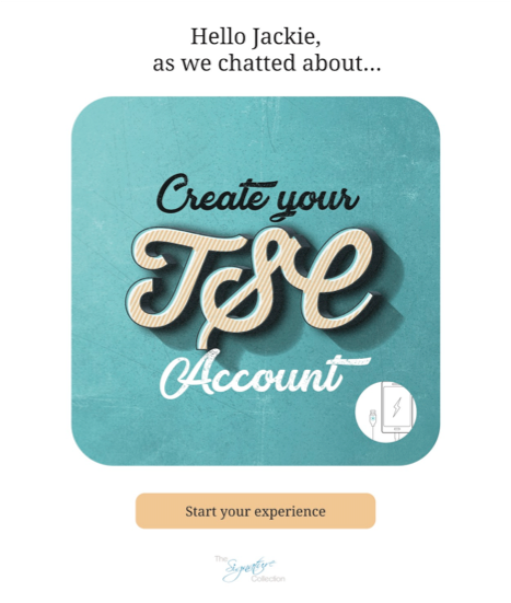Create TSC Account