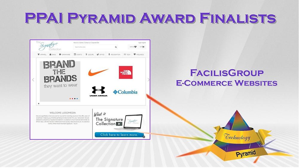 PPAI Pyramid Award - Facilisgroup websites