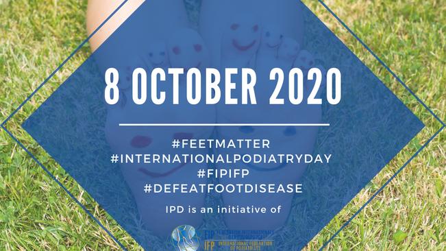 International podiatry day - 08/10/2020