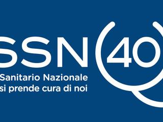 Logo per i 40 anni del Servizio Sanitario Nazionale