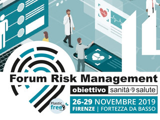 Forum Risk Management, 26-29 novembre 2019 Firenze