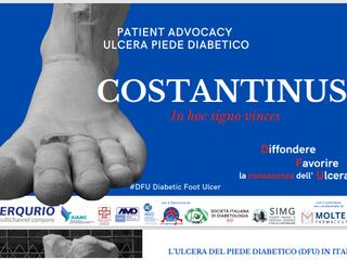 COSTANTINUS - PATIENT ADVOCACY, ULCERA PIEDE DIABETICO (DFU)
