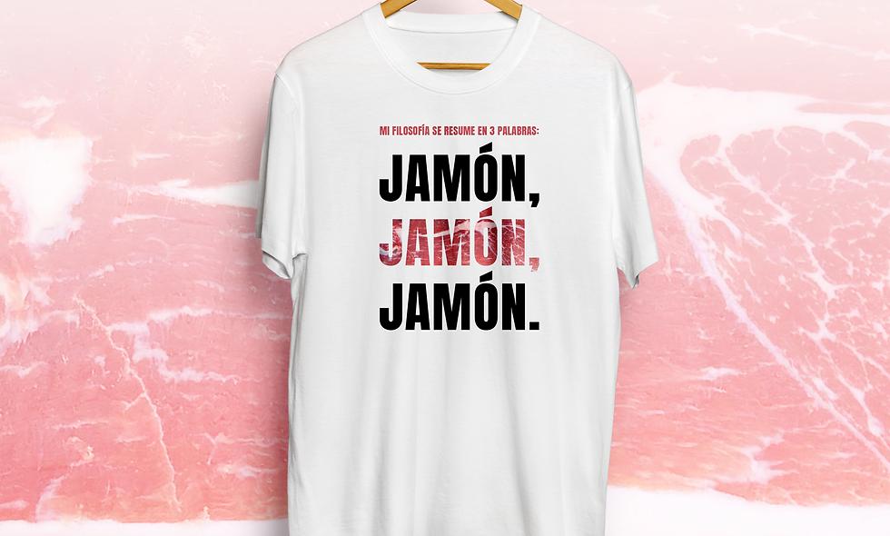 Camiseta JAMÓN, JAMÓN, JAMÓN