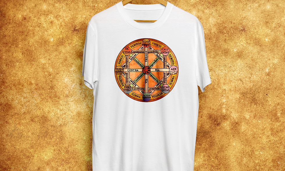 Camiseta Arte Combinatoria de Leibniz