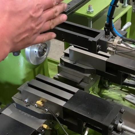 Automatic PLC Lathe