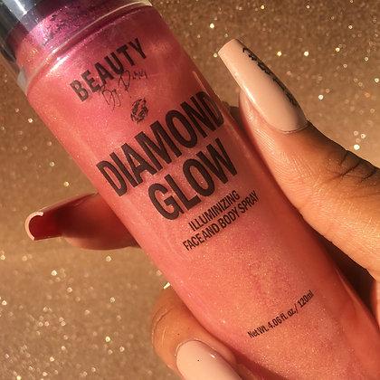 Diamond Glow Illuminizing Face & Body Spray Rose'
