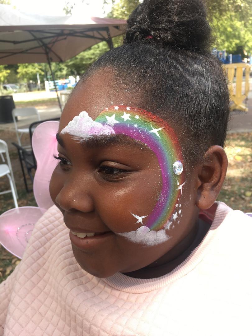 Face Paint with Paris Sacramento Face Painter