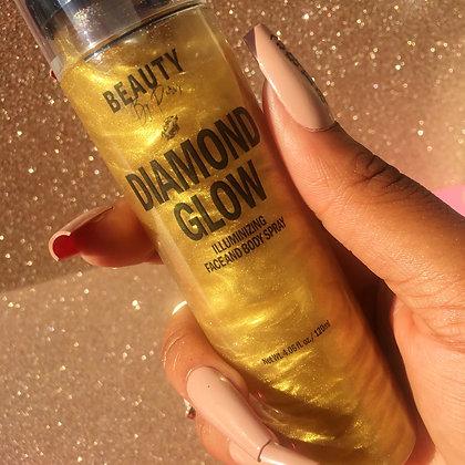 Diamond Glow Illuminizing Face & Body Spray: Golden Glow