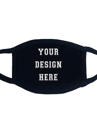 Custom Design Face Mask- Bulk Orders Only