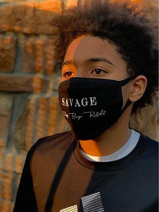Savage, Classy, Bougie, Ratchet Face Mask