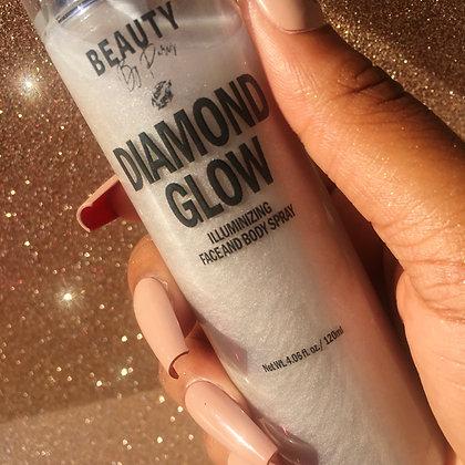 Diamond Glow Illuminizing Face & Body Spray: Cashmere