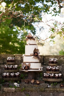 CAKE AND TIERS COMBINED