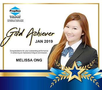 Award - Gold Achiever Jan 2019.jpg