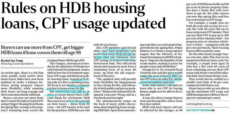 10 May 2019 HDB loan and CPF usage chang