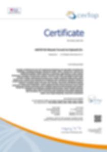 tanúsítvány HU17584-17 BS OHSAS 18001-20