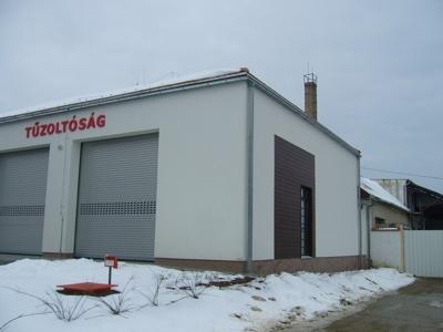 Új tűzoltóépület