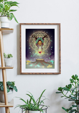 Heart of the Forest - Decoration print.j