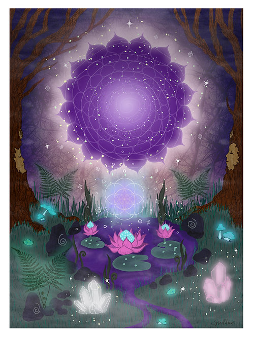 """A4 print-""""Doorway to the stars"""""""