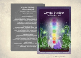 Crystal Healing, products card