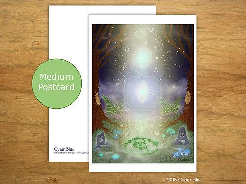 "Mini print // Medium card-""Music of the Spheres"""