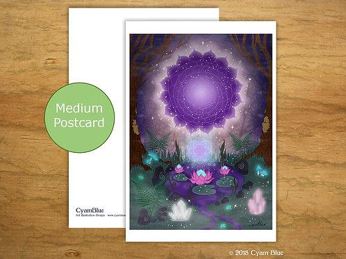 "Mini print // Medium card-""Gateway to the stars"""
