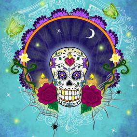 Postcard Sugar skull 02.jpg