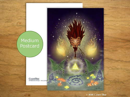 "Mini print // Medium postcard -""Within Shadow and light"""
