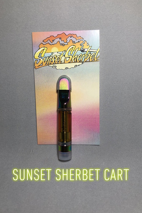 Sunset Sherbet Cart