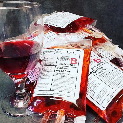Bubble Bath Blood Bags