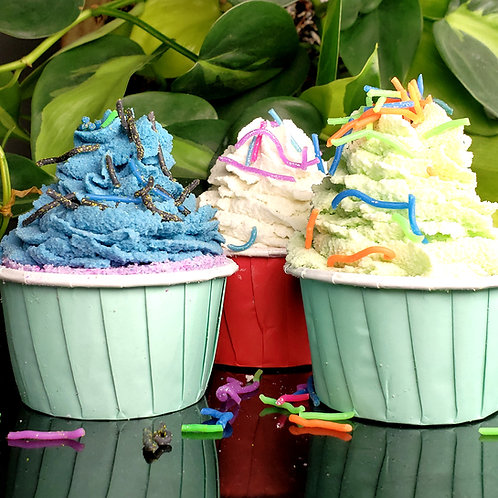 Bubble Bath Cupcakes