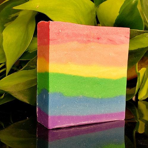 Rainbow Soap Pride