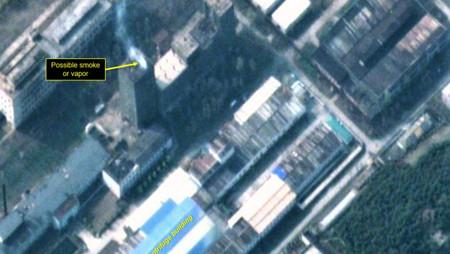 Satélite detecta anomalía en planta nuclear de Uranio en Corea del Norte