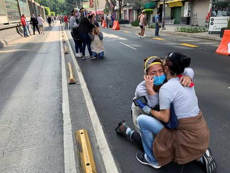 Fuerte sismo 7.5 preliminar en Oaxaca México alerta de tsunami en costas Mexicanas y centro américa