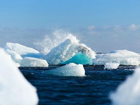 Misteriosa fuga masiva de gas metano en la Antártida