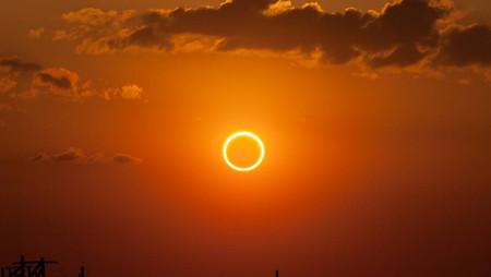 Eclipse solar 21 de junio ¿a que hora podremos verlo?
