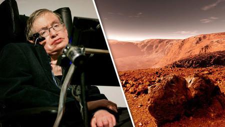 Stephen Hawking entregó la solución para sobrevivir en Marte y evitar transitoriamente la extinción