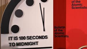 ¿El reloj del Apocalipsis se acercará a la medianoche?
